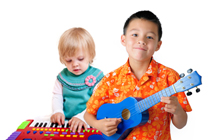 nauka gry na instrumentach