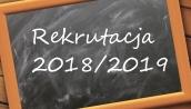 Rekrutacja do przedszkola na rok szkolny 2018/2019