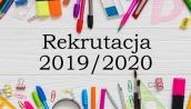 Rekrutacja do przedszkola na rok szkolny 2019/2020